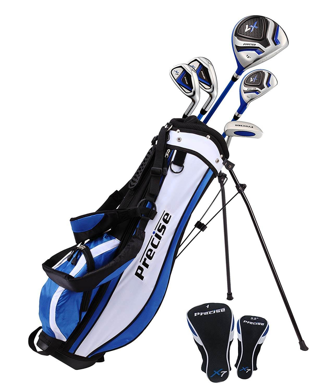 Precise X7 Junior Complete Golf Club Set