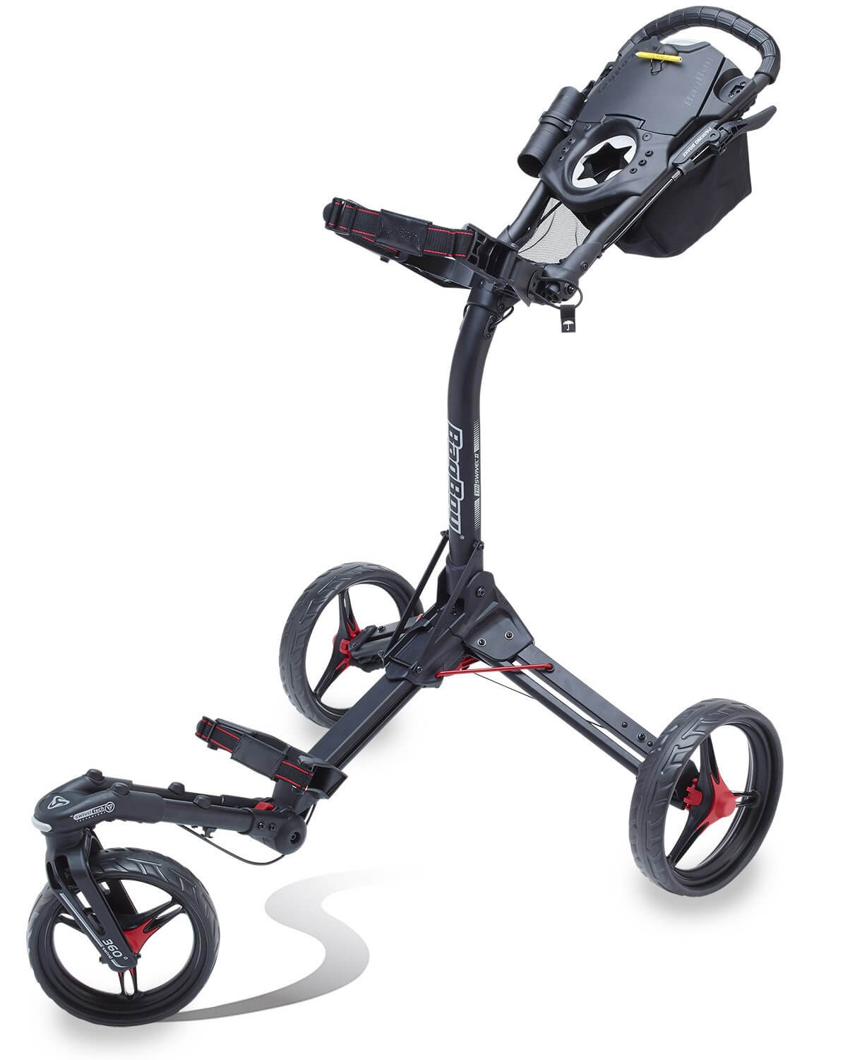 bag boy push cart triswivel