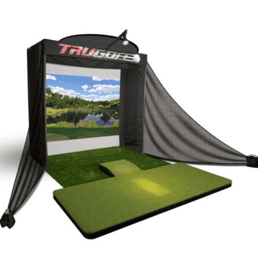 trugolf indoor golf simulator