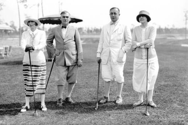 history of golf america