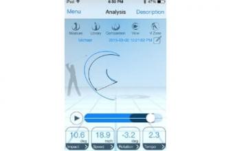 Epson M-Tracer Golf Swing Analyzer Review